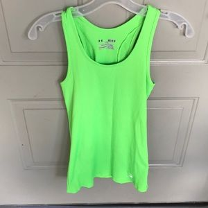 Green Under Armour Tank Top